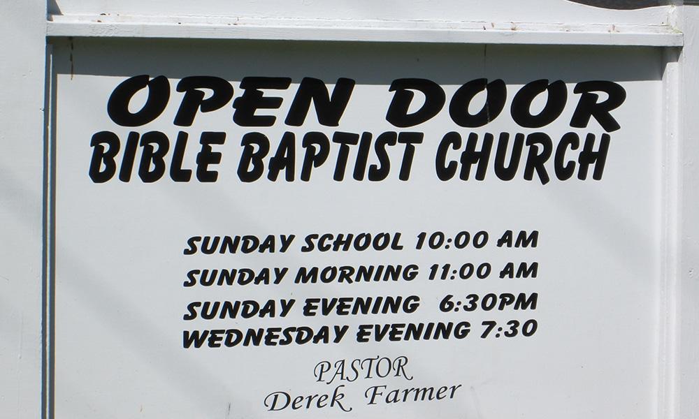 Open Door Bible Baptist Church | Open Door Bible Baptist